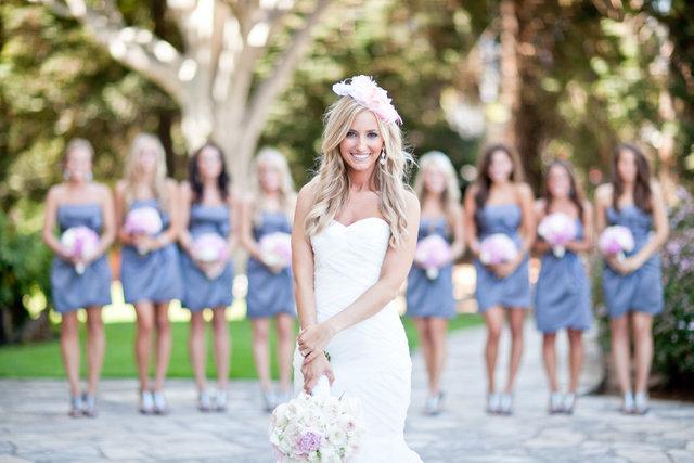 Когда кидает невеста букет