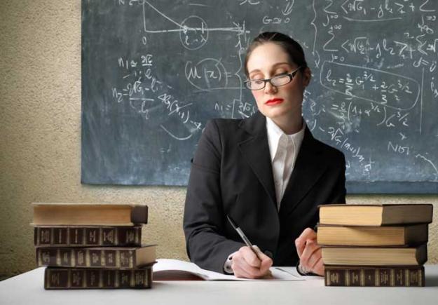 Рвал учительницу